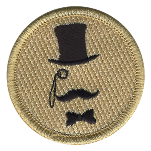 Extraordinary Gentlemen Scout Patrol Patch - embroidered 2 inch round