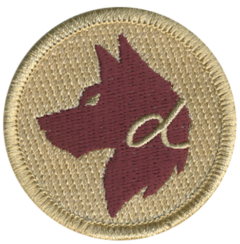 Alpha Dog Patrol Patch