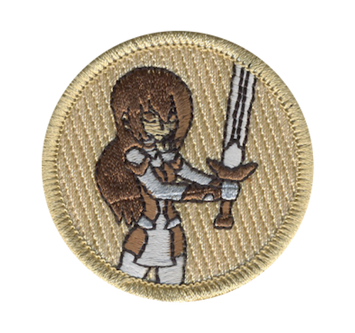 Valkyrie Scout Patrol Patch - embroidered 2 inch round