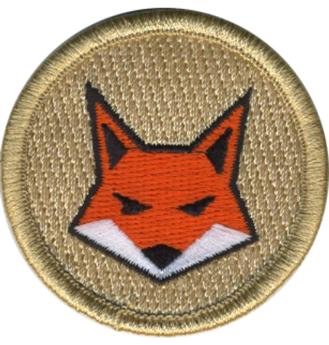 Orange Fox Patrol Patch