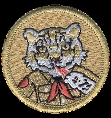 Bacon Snow Leopard Patrol Patch