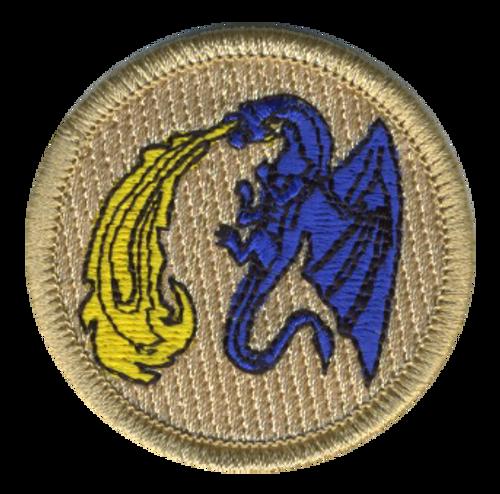 Fire Breathing Dragon Patrol Patch