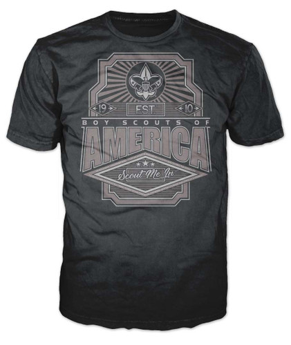 Scouts BSA Graphic Tee With Scout Me In Design