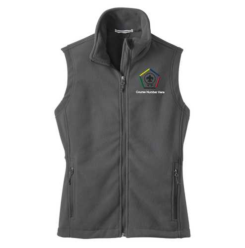 Port Authority® Ladies' Fleece Vest- WB