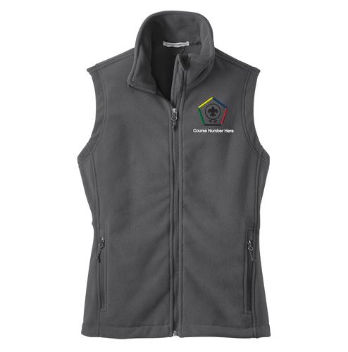 Port Authority® Ladies' Fleece Vest- WB