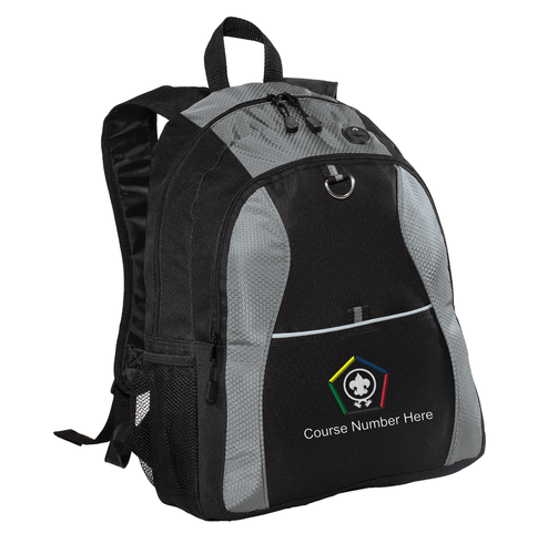 Port Authority® Contrast Honeycomb Backpack - WB