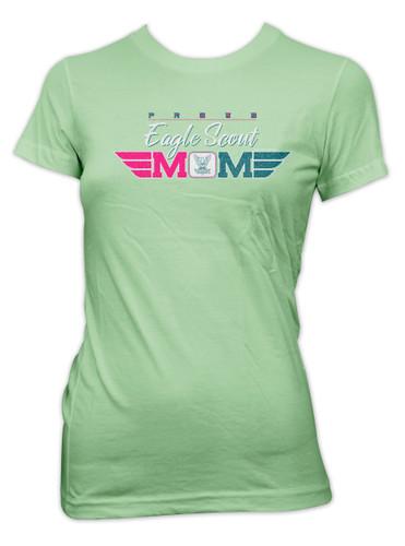 Proud Eagle Scout Mom T-Shirt (SP7514)