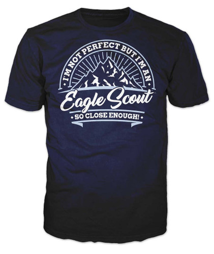 BSA Eagle Scout Graphic Tee With Perfect Eagle Scout Design