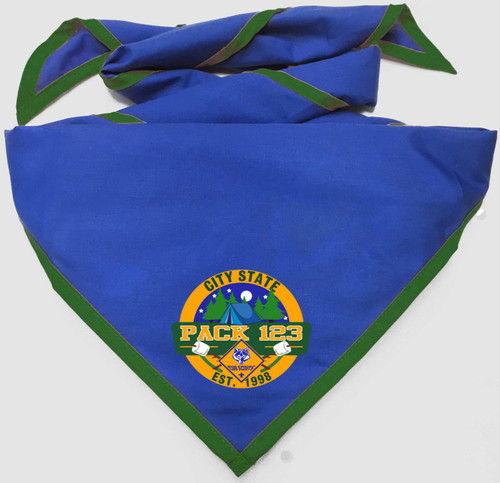 Pack Neckerchief with Cub Scout Logo
