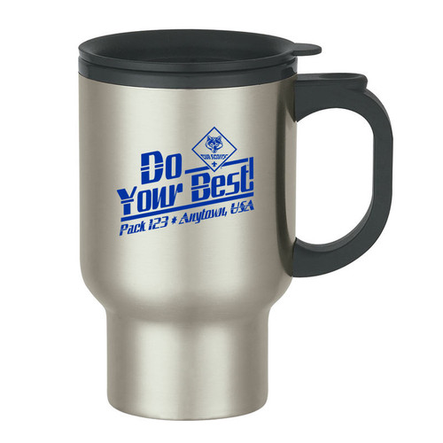 Cub Scout Pack Stainless Steel Travel Tumbler with Cub Scout Logo