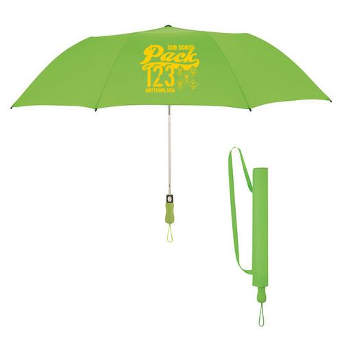 Cub Scout Pack Umbrella with Cub Scout Logo