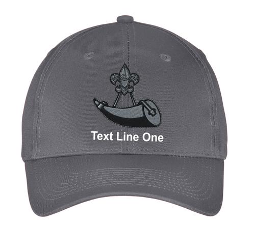 BSA Powder Horn Cap With Powder Horn Logo