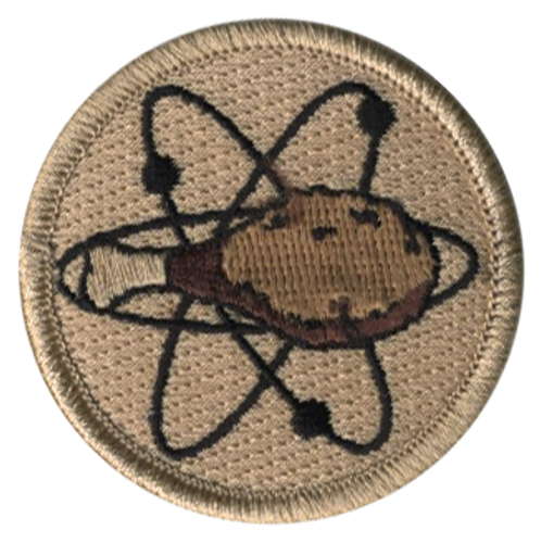 Atomic Fried Chicken Scout Patrol Patch - embroidered 2 inch round