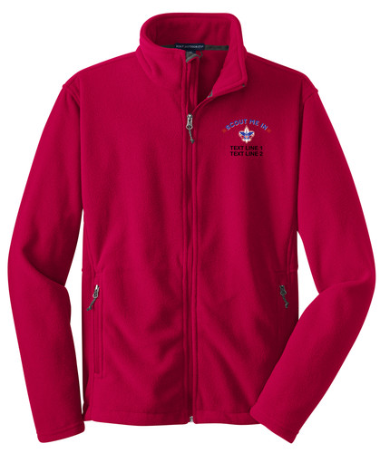 Port Authority® Value Fleece Jacket with Scout Me In Corporate Logo
