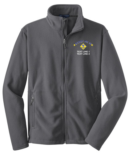 Port Authority® Value Fleece Jacket with Scout Me In Cub Scout Logo