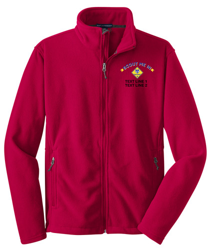 BSA Scout Me In Jacket with Scout Me In Logo - Red