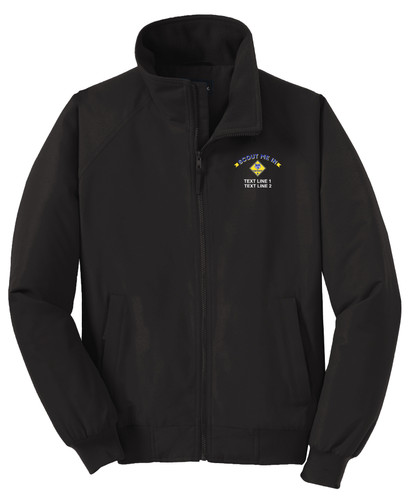 Port Authority® Charger Jacket with Scout Me In Cub Scout Logo