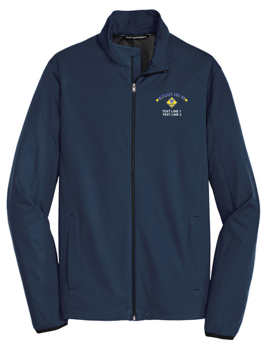 Port Authority® Soft Shell Jacket with Scout Me In Cub Scout Logo