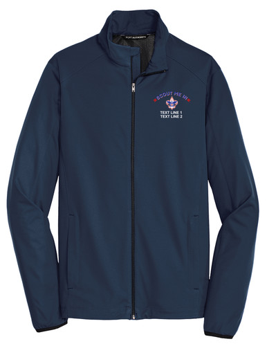 Port Authority® Soft Shell Jacket with Scout Me In Corporate Logo