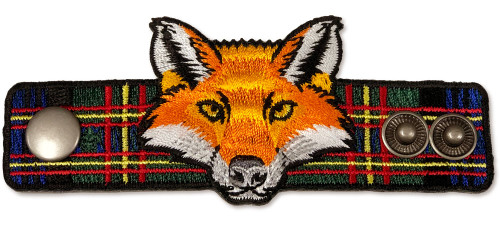 Wood Badge® Fox Critter Neckerchief Slide (SP7741)