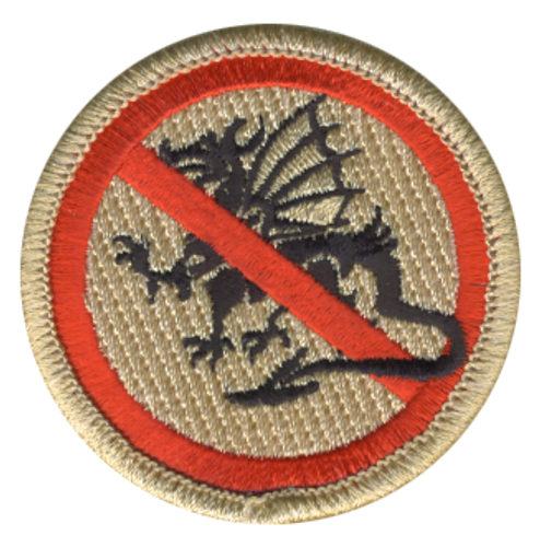 Anti-Dragon Patrol Patch