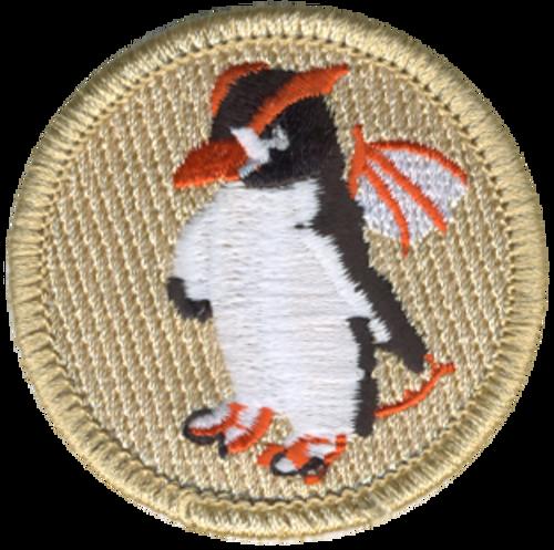 Penguin Dragon Patrol Patch