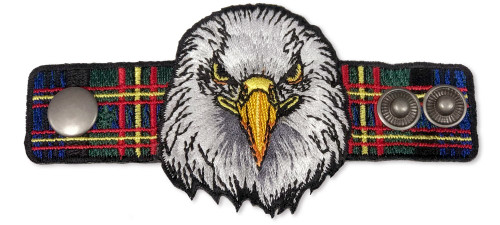 Wood Badge Neckerchief Slider with Wood Badge Eagle Critter
