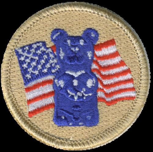 US Gummy Bear Patrol Patch