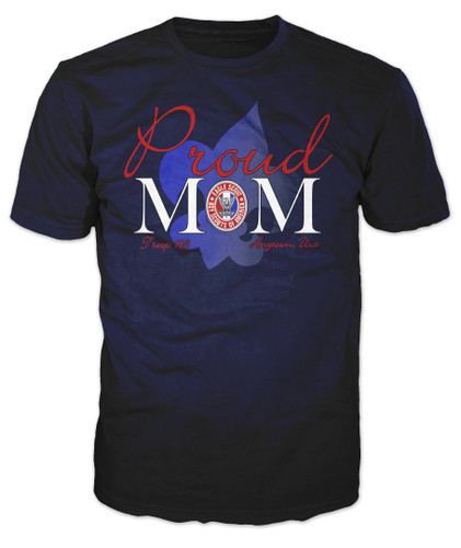 BSA Eagle Scout Graphic Tee With Eagle Scout Mom Design