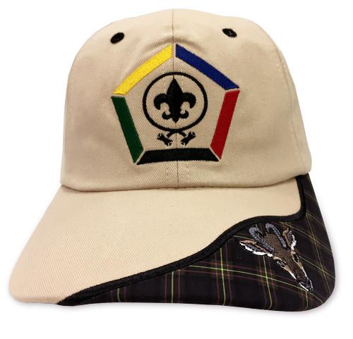 New Wood Badge Antelope Critter Head Cap