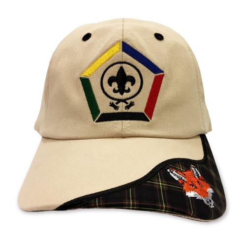 New Wood Badge Fox Critter Head Cap
