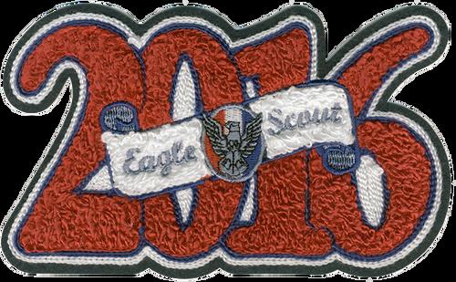 BSA Eagle Scout Patch Eagle Scout Year Letterman Jacket Patch