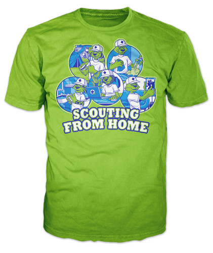 Scouts BSA Graphic Tee With Scouting From Home Design