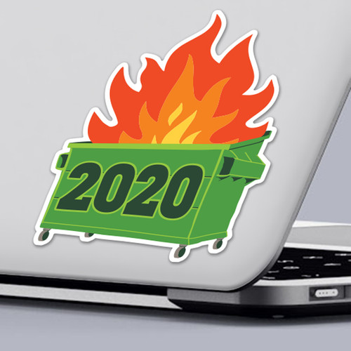 2020 Dumpster Sticker