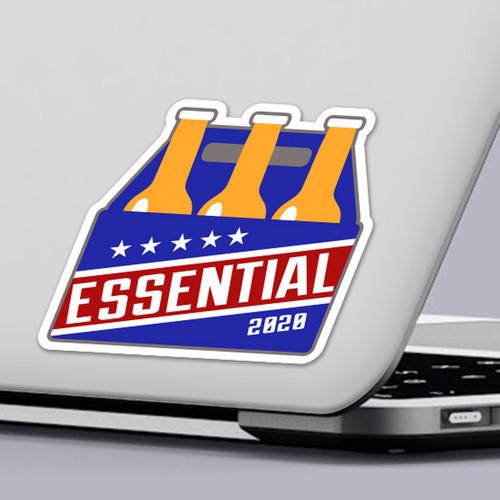 Essential Beer Sticker