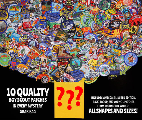 Mystery Patch Grab Bag- 10 Piece