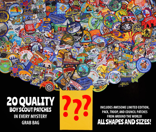 Mystery Patch Grab Bag- 20 Piece
