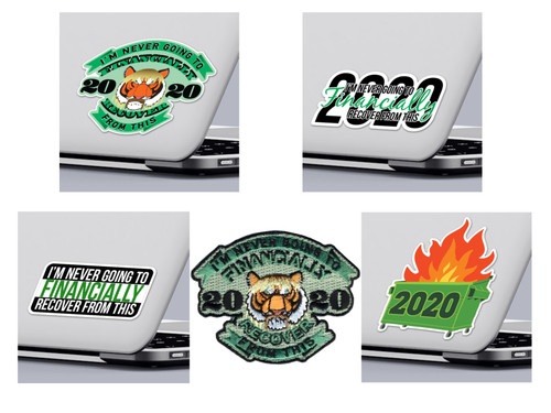 Funny 2020 Quarantine Sticker Pack