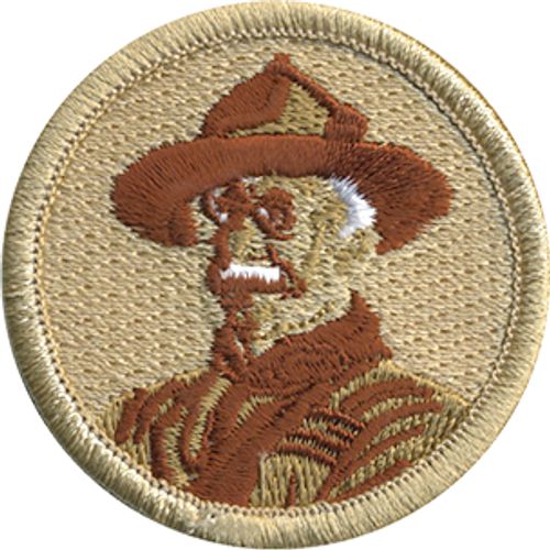 Retired Baden Powell Patrol Patch