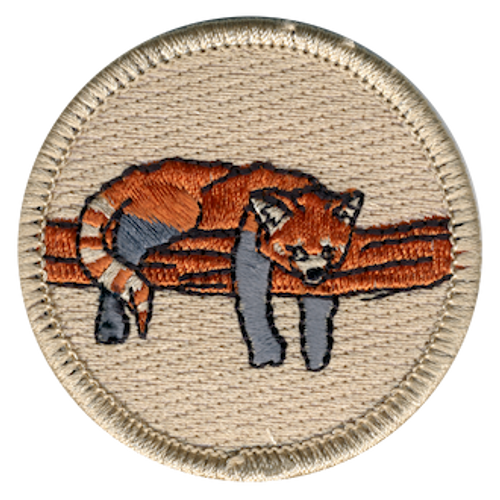 Red Panda Patrol Patch