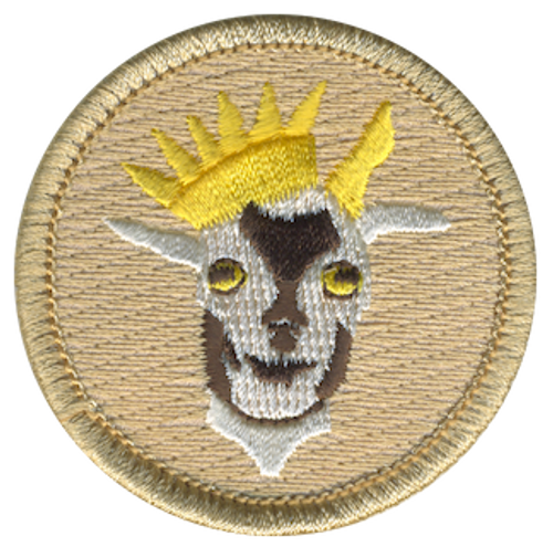 Elite G.O.A.T. Force Scout Patrol Patch - embroidered 2 inch round