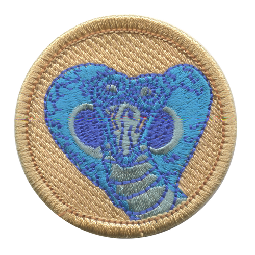 Blue Cobra Scout Patrol Patch