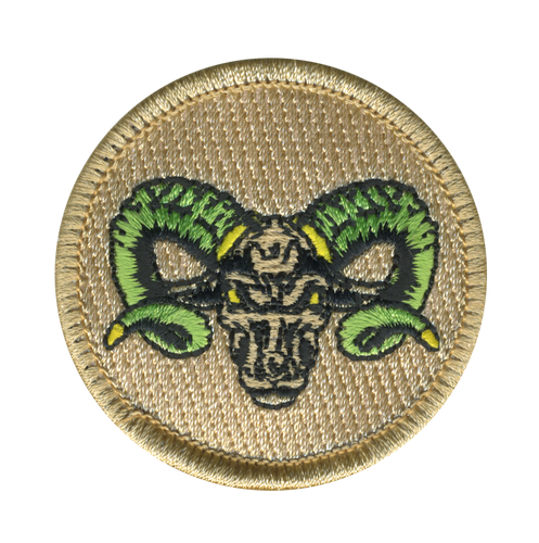 Greenhorn Scout Patrol Patch - embroidered 2 inch round