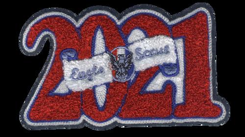 2021 Eagle Scout Letterman Jacket Chenille Patch