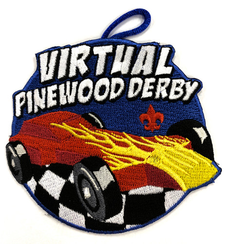 Virtual Pinewood Derby Patch