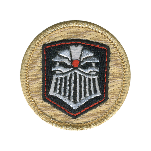 Juggernaut Helmet Patrol Patch - embroidered 2 inch round