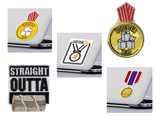 Medal Sticker and Patch Pack