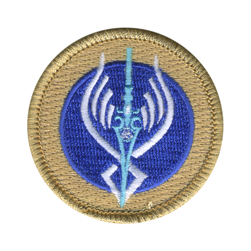 Valkyrie's Voice Patrol Patch - embroidered 2 inch round