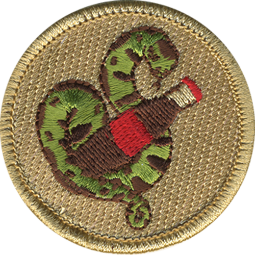 CocaConda Patrol Patch - embroidered 2 inch round
