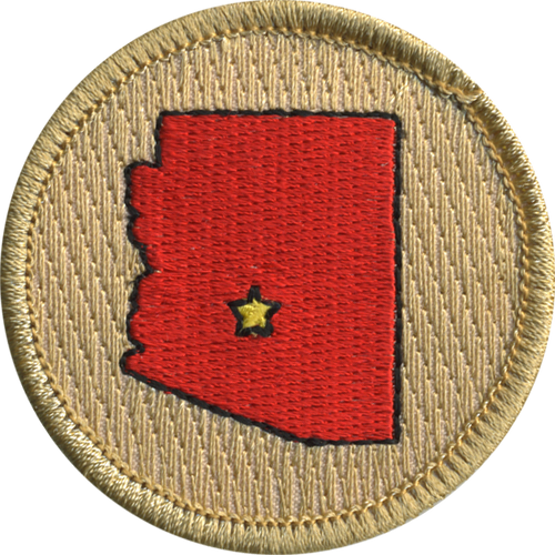 Arizona Patrol Patch - embroidered 2 inch round